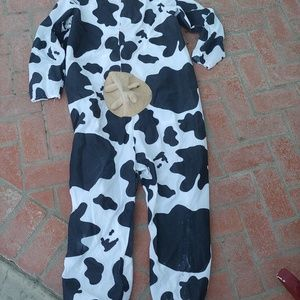 COW COSTUME, Chic-Fil-A Farm Costume Udders